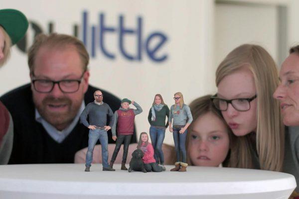 3D-Figur-Familie