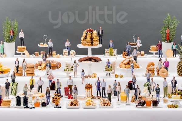 3D-Figuren-Buffet | Client: KW Creatives | kwag.de/thompson/partner/kw-creatives