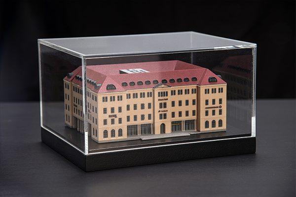 3D-Architektur 25 Hours Hotel