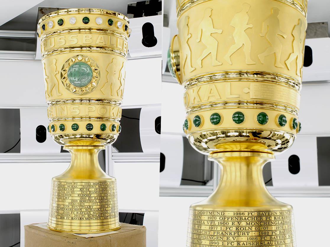 3D-Scan DFB-Pokal Original