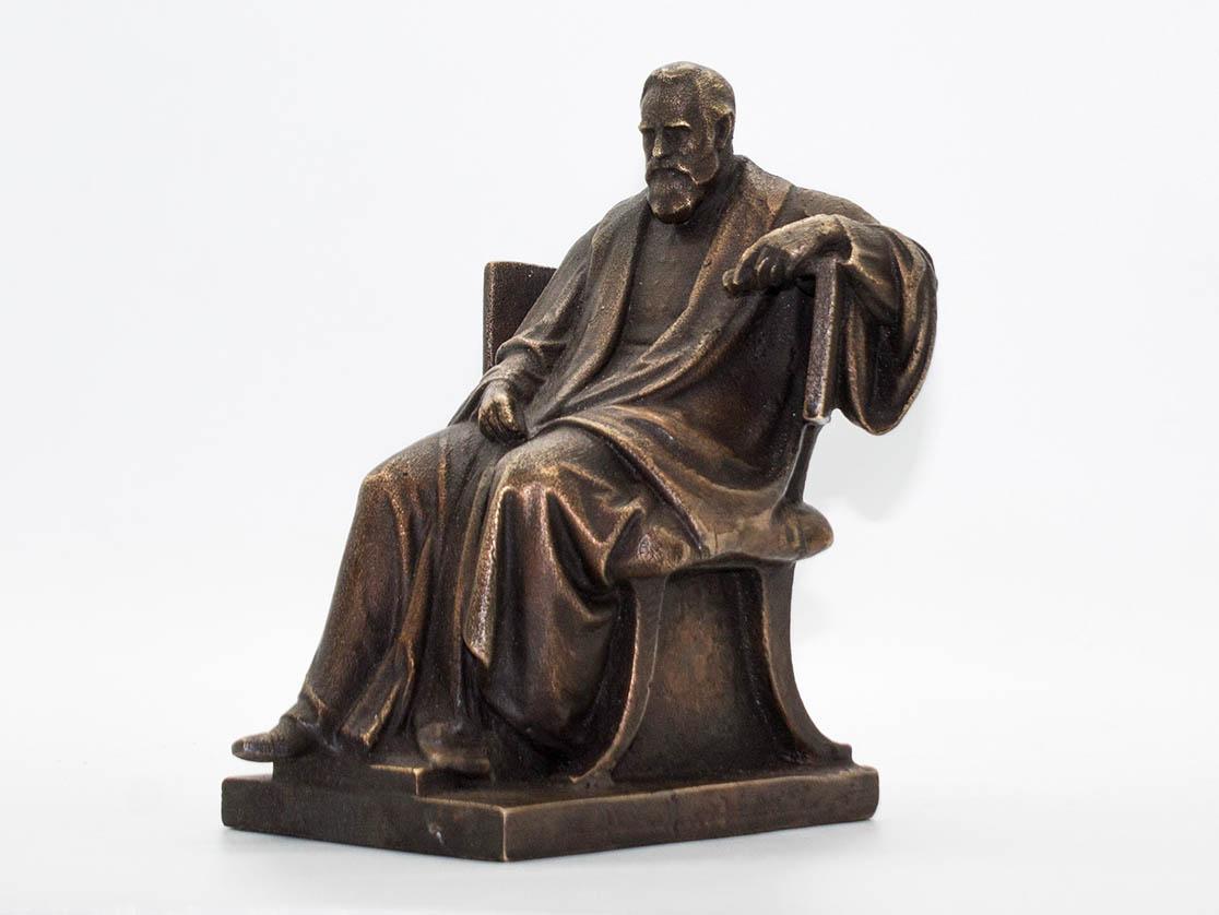 3D-Scan Denkmal Pettenkofer Bronze