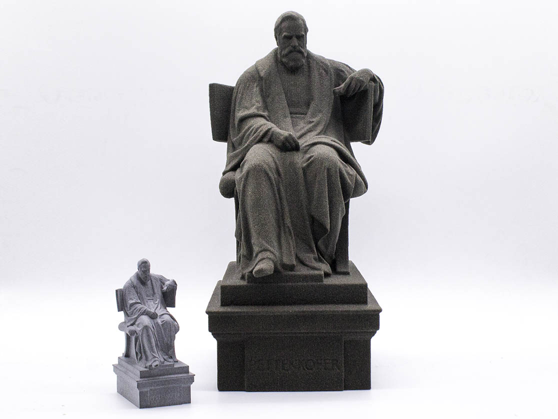 3D-Scan 3D-Druck Denkmal Pettenkofer