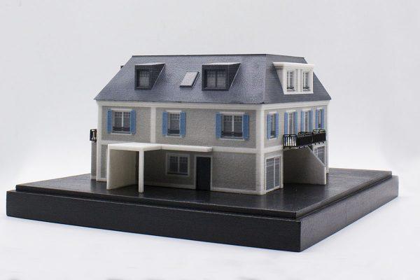 3D-Architektur Polymergips Gallist Haus