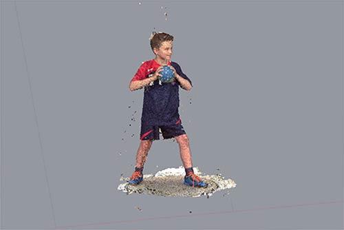 3D-Figuren 3D-Scan Schritt 1: Raw 3D-Scan