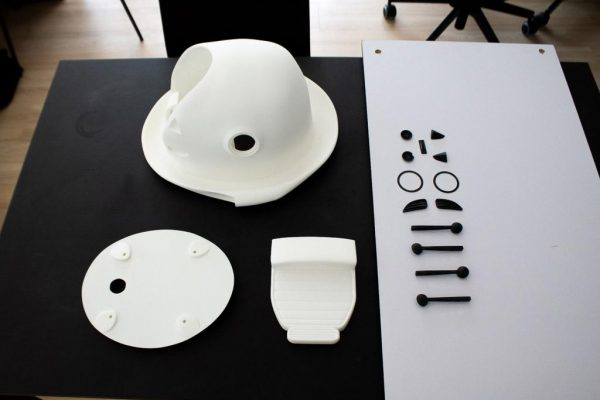 """Making-Of des Raumschiffes für die Neuauflage der Kinderserie """"Pan Tau"""" - 3D-Druck unbemaltes Raumschiff aus PA2200"""