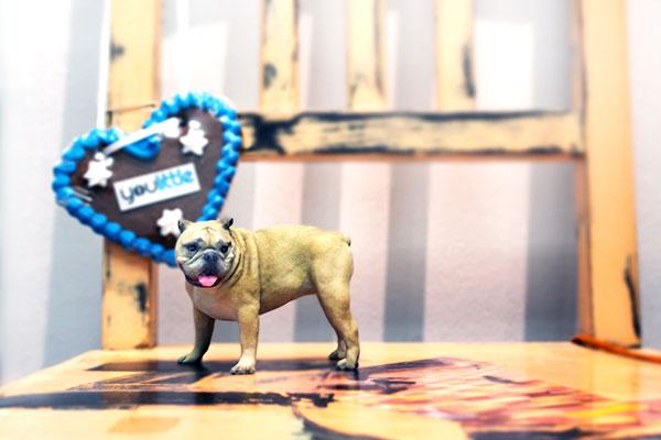 3D-Figuren_Polymergips_Hund_Bulldogge